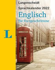 Langenscheidt Sprachkalender Englisch für Fortgeschrittene 2022 - Cover