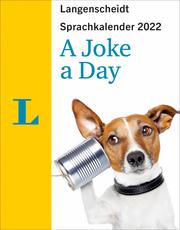 Langenscheidt Sprachkalender A Joke A Day 2022 - Cover