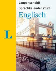 Langenscheidt Sprachkalender Englisch 2022 - Cover