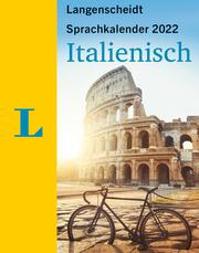 Langenscheidt Sprachkalender Italienisch 2022 - Cover