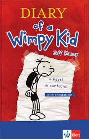 Diary of a Wimpy Kid - Cover