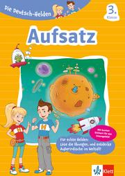 Klett Die Deutsch-Helden Aufsatz 3. Klasse - Cover