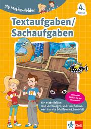 Textaufgaben/Sachaufgaben 4. Klasse - Cover