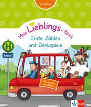 Mein Lieblings-Block Erste Zahlen und Denkspiele - Cover