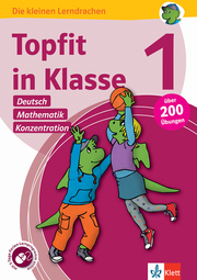 Klett Topfit in Klasse 1 - Deutsch, Mathematik und Konzentration - Cover