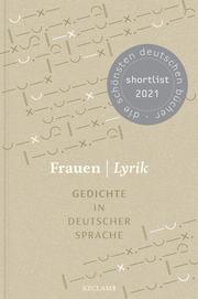 Frauen - Lyrik. Gedichte in deutscher Sprache - Cover