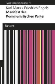 Manifest der Kommunistischen Partei/Grundsätze des Kommunismus - Cover