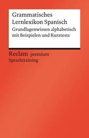 Grammatisches Lernlexikon Spanisch - Cover