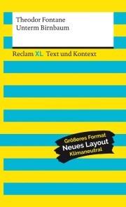 Unterm Birnbaum. Textausgabe mit Kommentar und Materialien - Cover