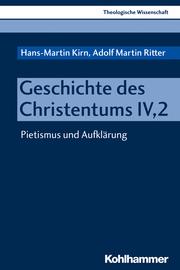 Geschichte des Christentums IV, 2 - Cover