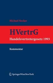 Kommentar zum Handelsvertretergesetz (HVertrG 1993) - Cover