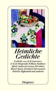 Heimliche Gedichte - Cover
