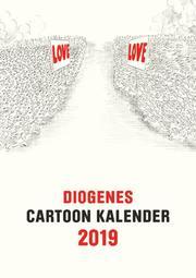 Diogenes Cartoon Kalender 2019