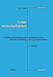 Volkswirtschaftslehre - Cover