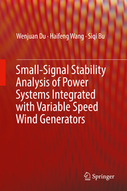 Small-Signal Stability Analysis of Power Transmission Systems with Large-Scale Wind Power Generation