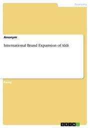 International Brand Expansion of Aldi