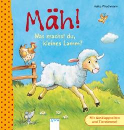 Mäh! Was machst du, kleines Lamm?