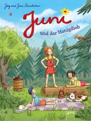 Juni und der Honigdieb - Cover