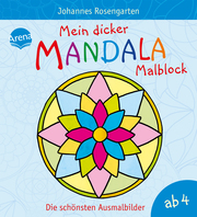 Mein dicker Mandala-Malblock - Cover