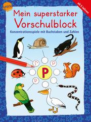 Konzentrationsspiele mit Buchstaben und Zahlen