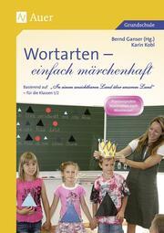 Wortarten - einfach märchenhaft - Cover