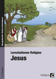 Lernstationen Religion: Jesus - Cover