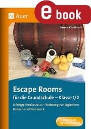 Escape Rooms für die Grundschule - Klasse 1/2 - Cover