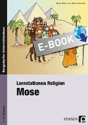 Lernstationen Religion: Mose - Cover