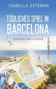 Tödliches Spiel in Barcelona - Cover