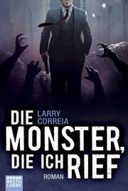 Die Monster, die ich rief - Cover