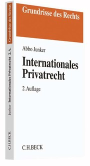 Internationales Privatrecht
