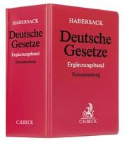 Deutsche Gesetze I - Cover