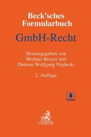 Beck'sches Formularbuch GmbH-Recht