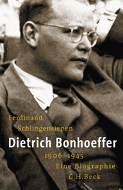 Dietrich Bonhoeffer 1906-1945 - Cover