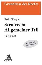 Strafrecht - Allgemeiner Teil - Cover