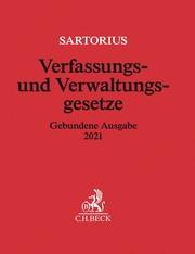 Verfassungs- und Verwaltungsgesetze - Cover