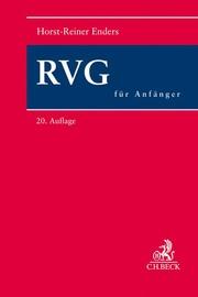 RVG für Anfänger - Cover