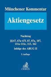 Münchener Kommentar zum Aktiengesetz 1a/2a