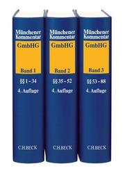 Münchener Kommentar zum Gesetz betreffend die Gesellschaften mit beschränkter Haftung (GmbHG) Gesamtwerk