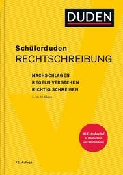 Schülerduden Rechtschreibung - Cover