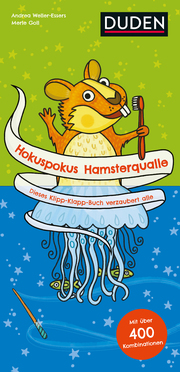 Hokuspokus Hamsterqualle - Dieses Klipp-Klapp-Buch verzaubert alle - Cover