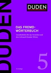 Duden - Das Fremdwörterbuch - Cover