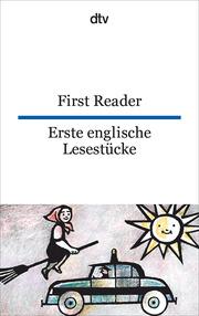 First Reader/Erste englische Lesestücke - Cover