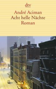 Acht helle Nächte - Cover