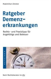 Ratgeber Demenzerkrankungen - Cover