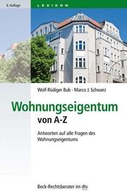 Wohnungseigentum von A-Z - Cover
