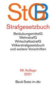 Strafgesetzbuch, StGB - Cover