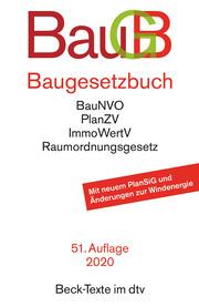 Baugesetzbuch - Cover