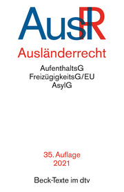 Ausländerrecht - Cover