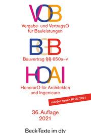 VOB/BGB/HOAI - Cover